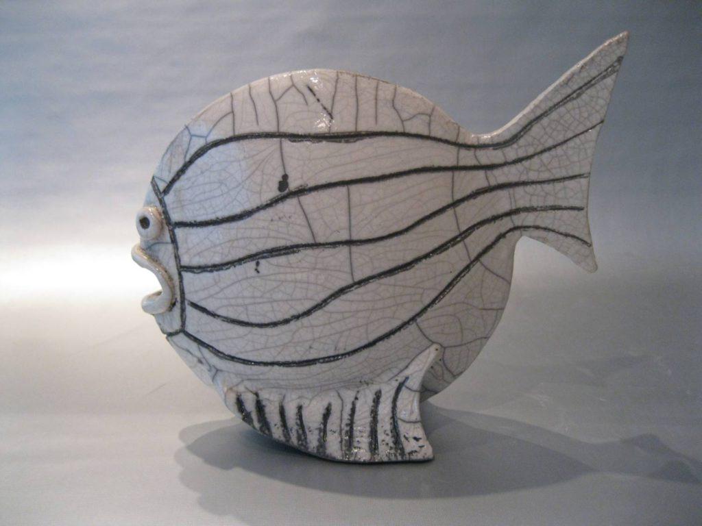 vis met strepen